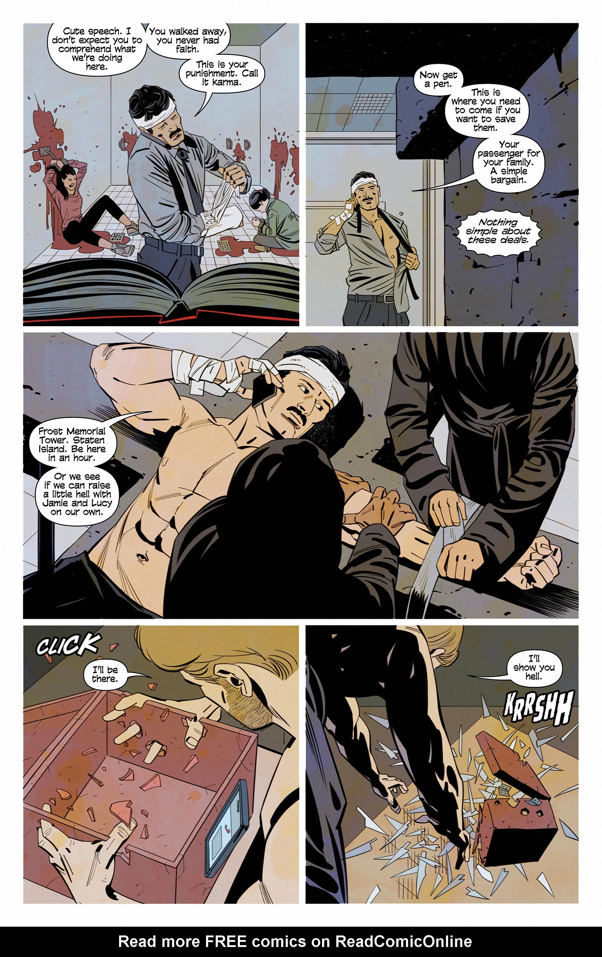 Read online Demonic comic -  Issue #6 - 11