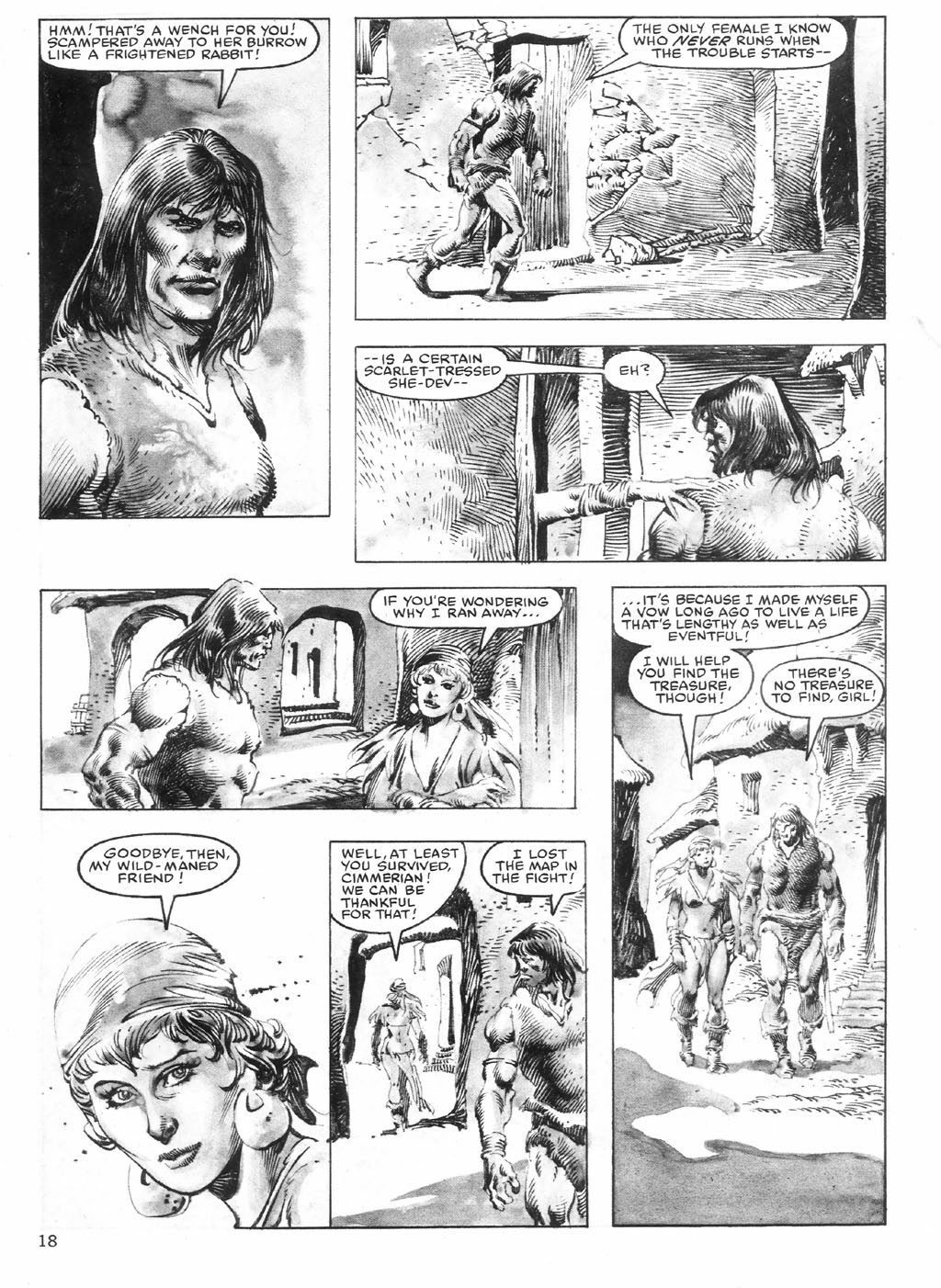 The Savage Sword Of Conan Issue #98 #99 - English 18