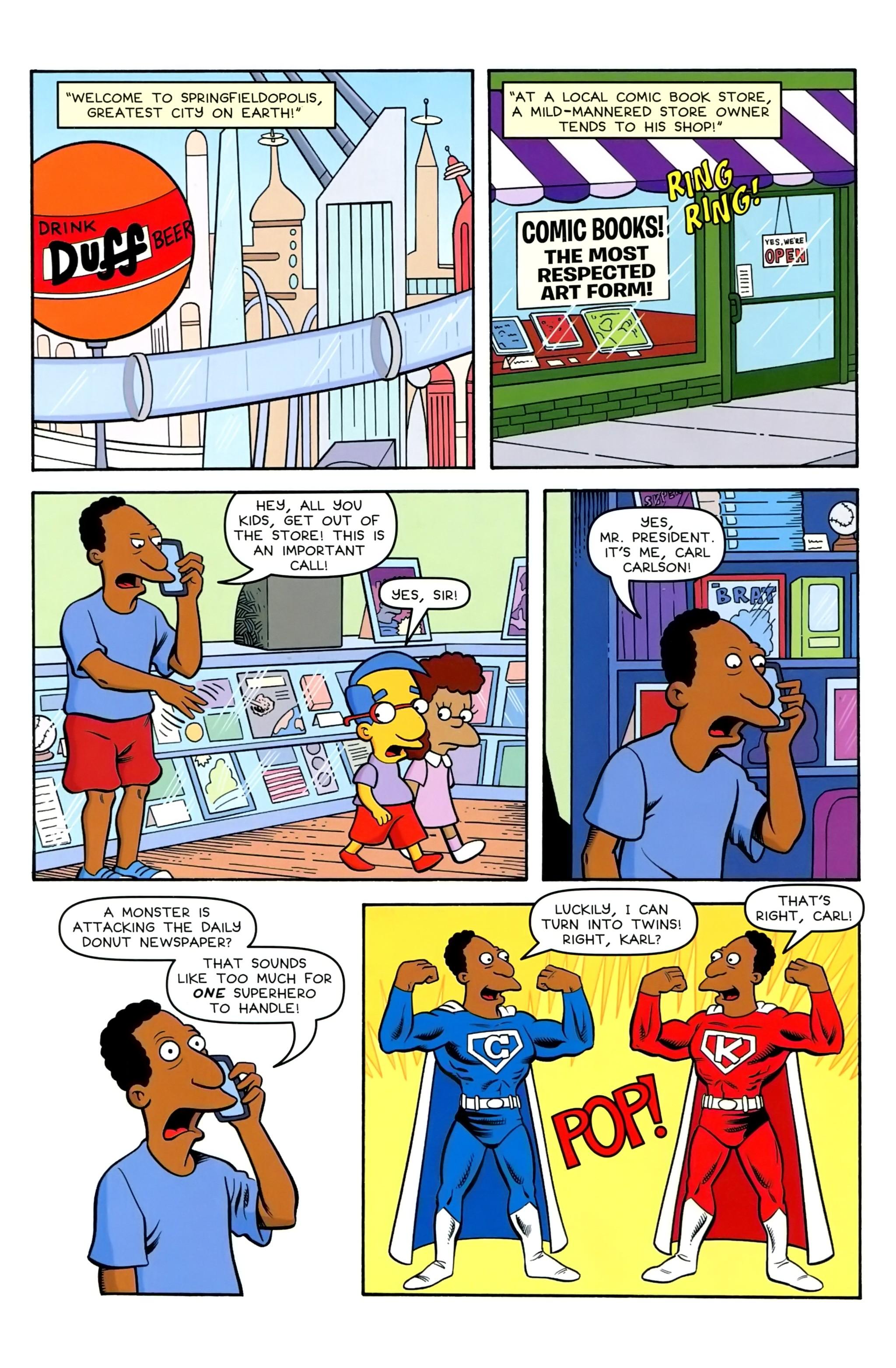 Read online Simpsons Comics comic -  Issue #239 - 16