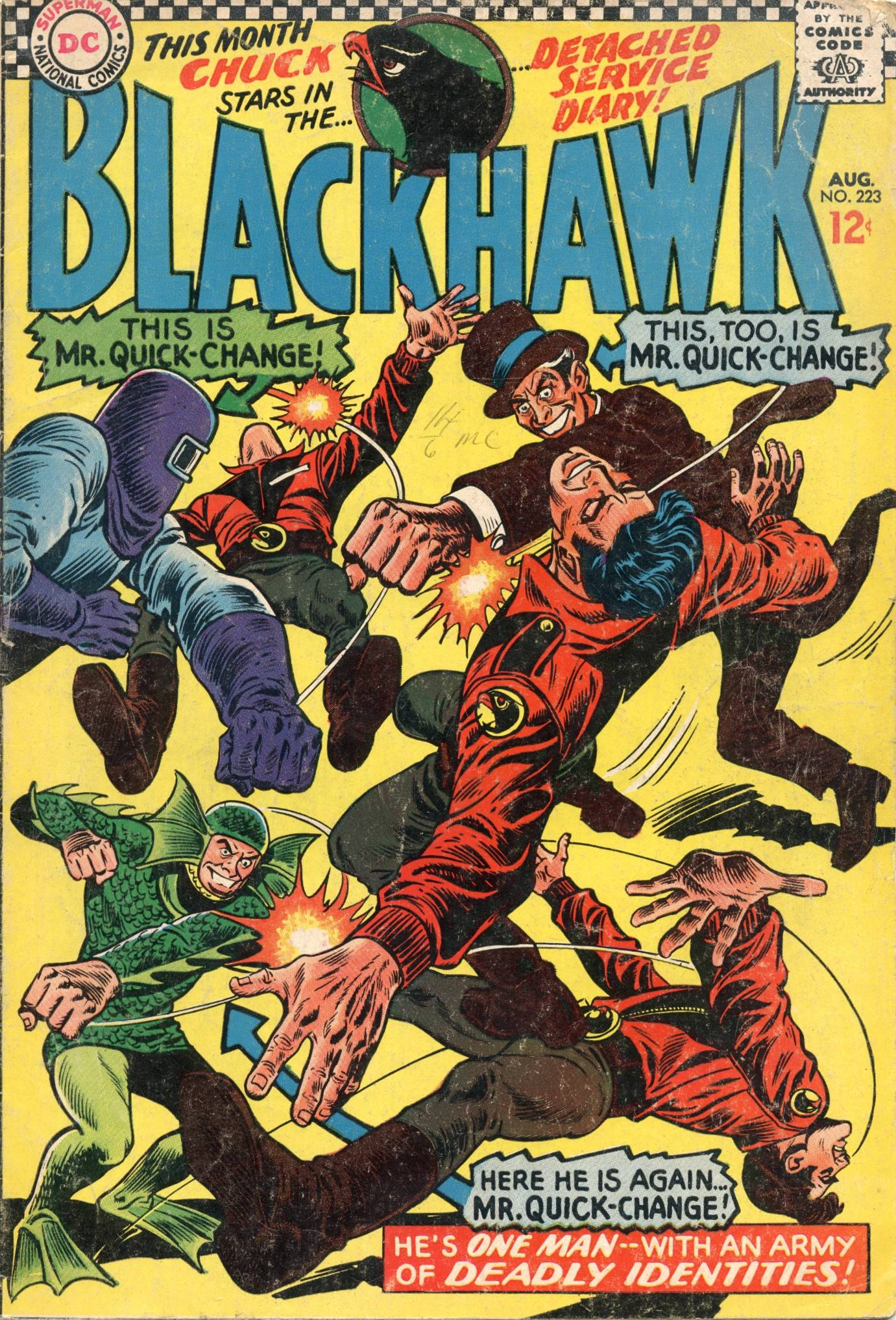 Blackhawk (1957) 223 Page 1