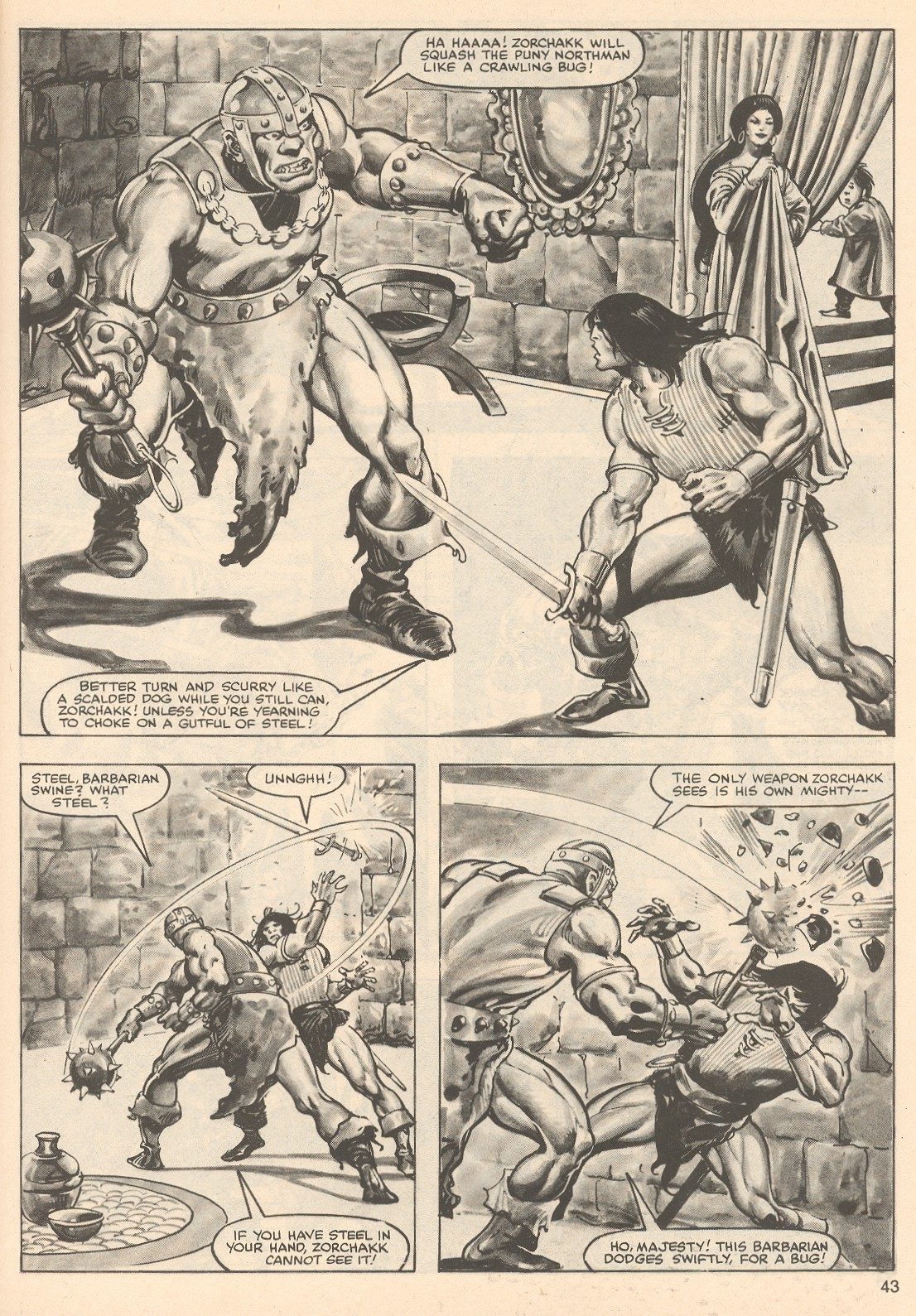 The Savage Sword Of Conan Issue #76 #77 - English 43