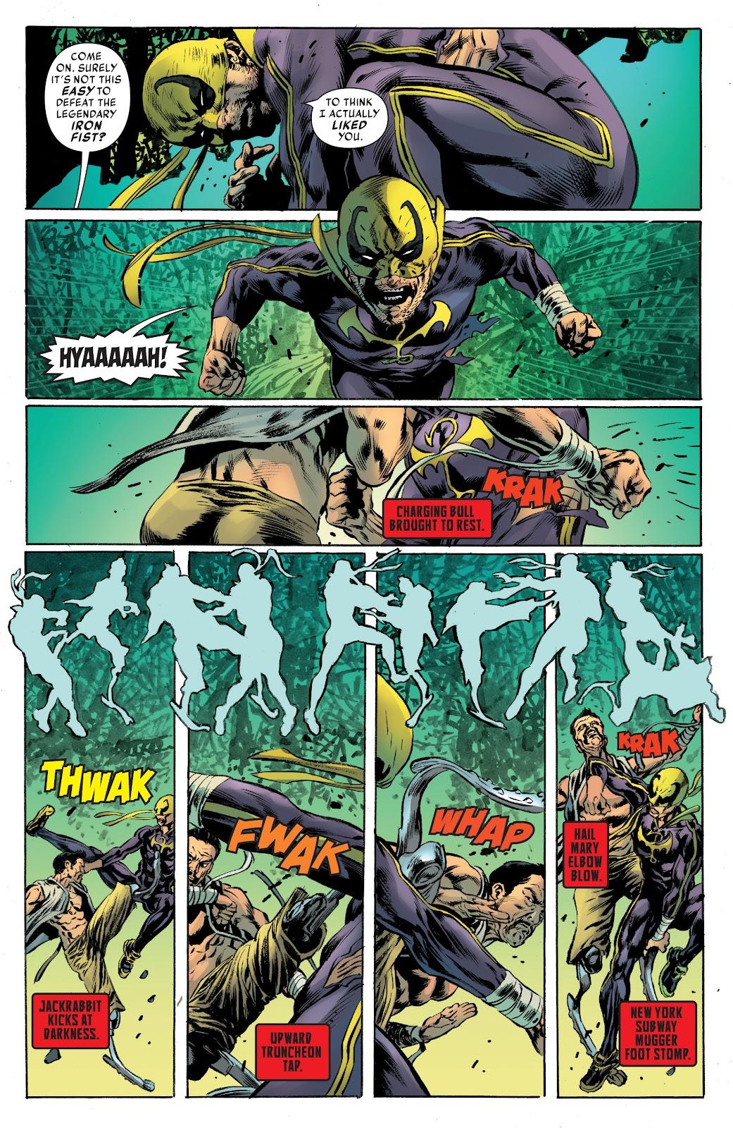 Iron Fist (2017) Issue #4 #4 - English 16