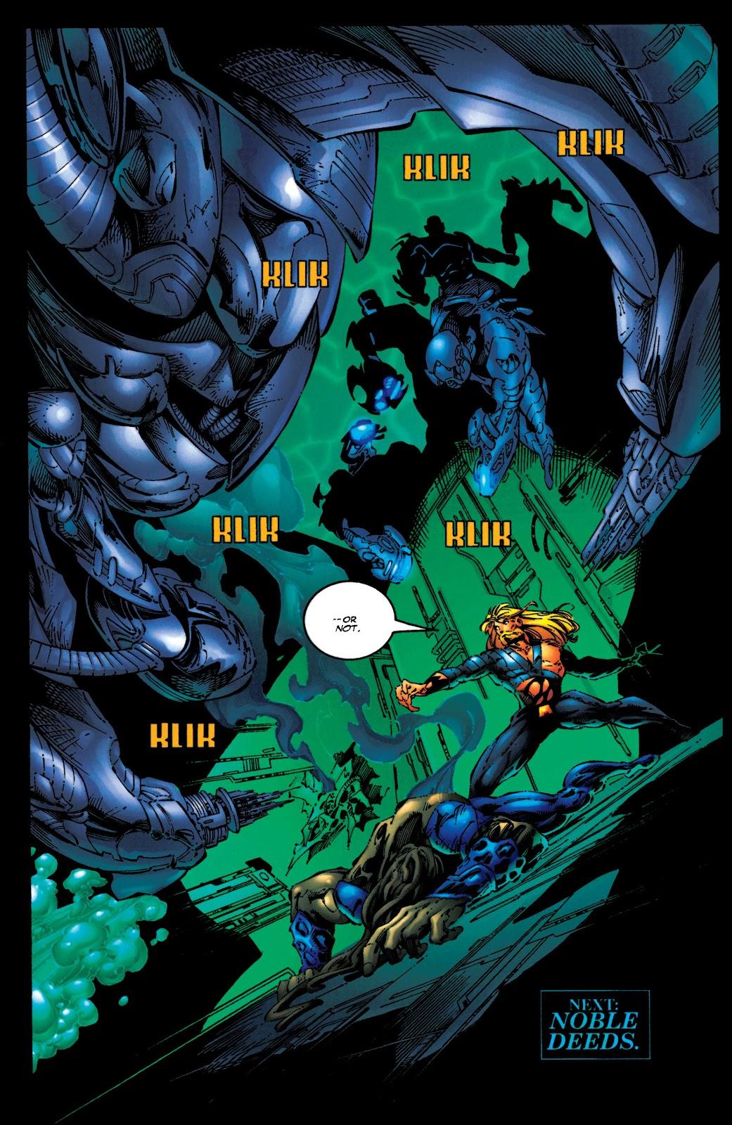 Aquaman (1994) Issue #50 #56 - English 21