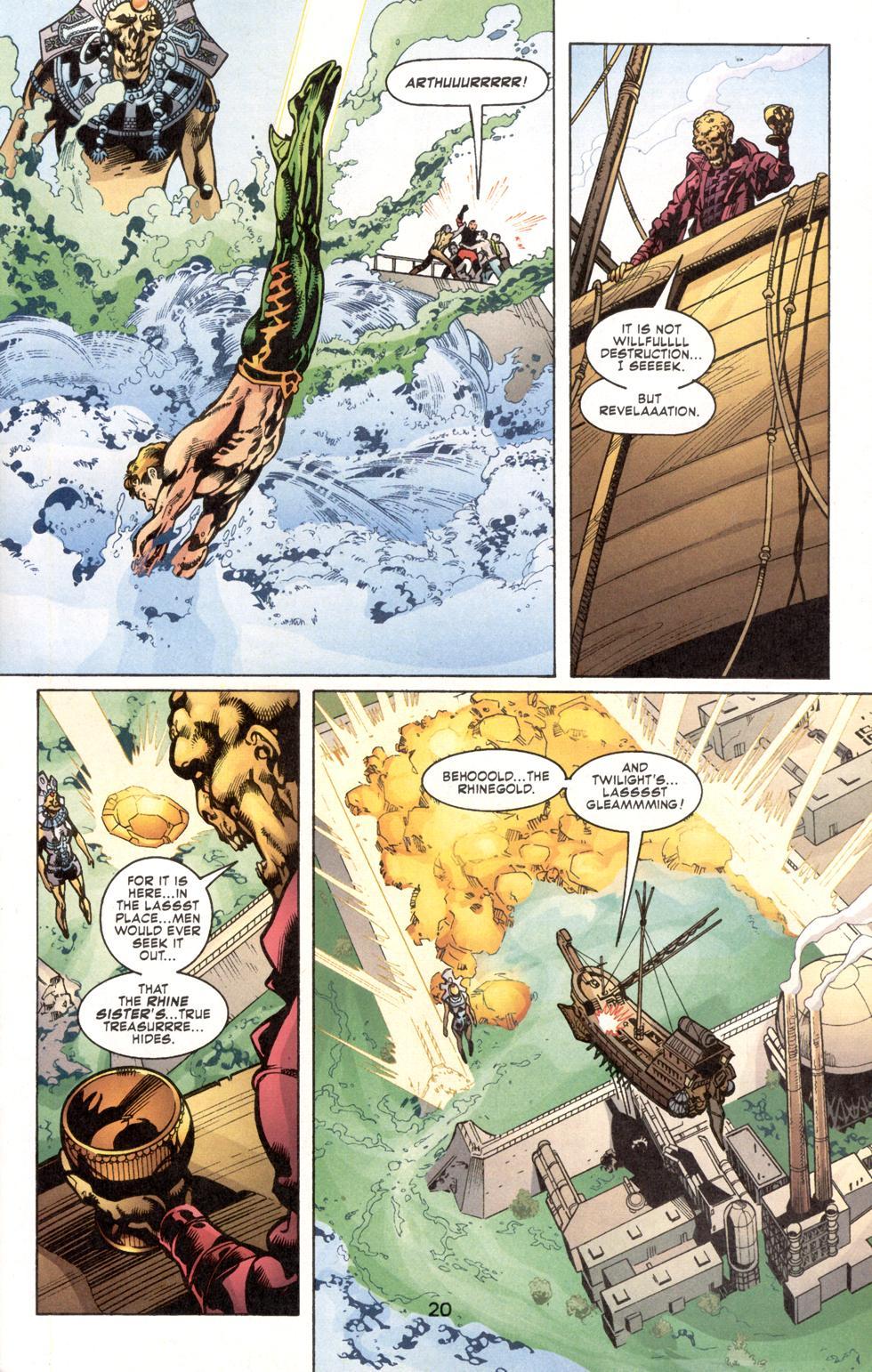 Aquaman (2003) Issue #7 #7 - English 22