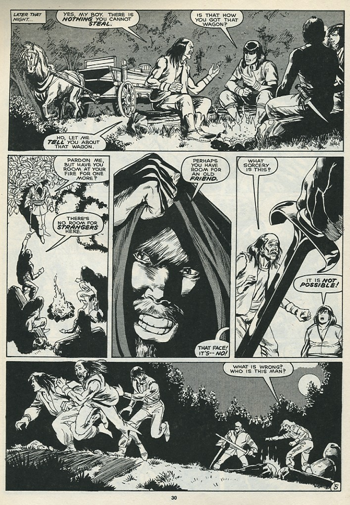 The Savage Sword Of Conan Issue #172 #173 - English 32