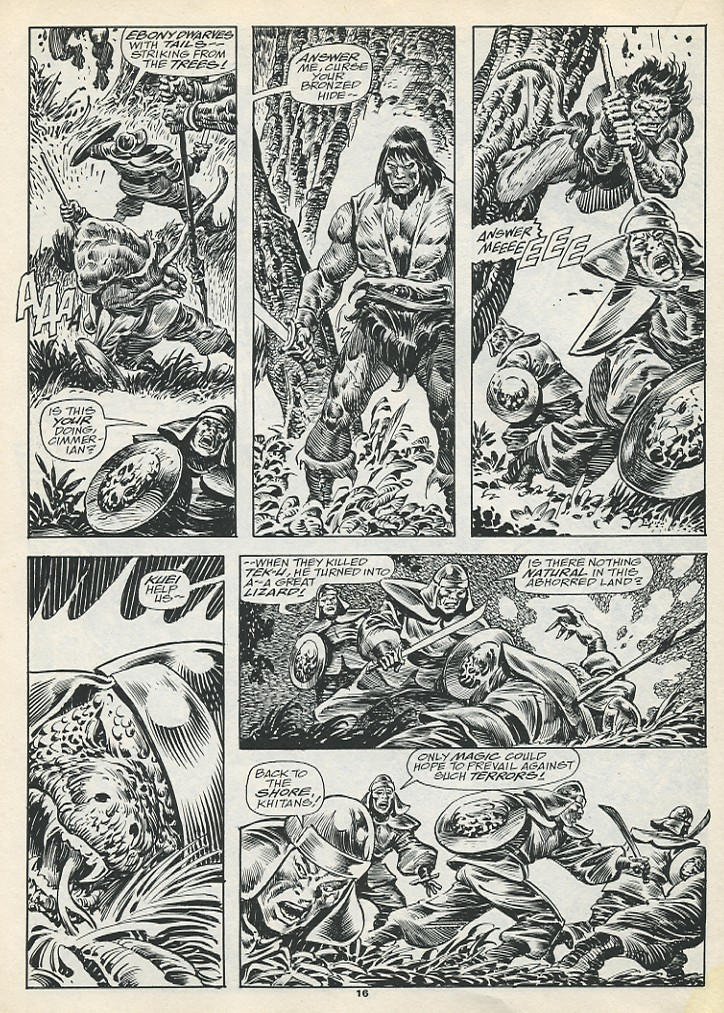 The Savage Sword Of Conan Issue #193 #194 - English 18