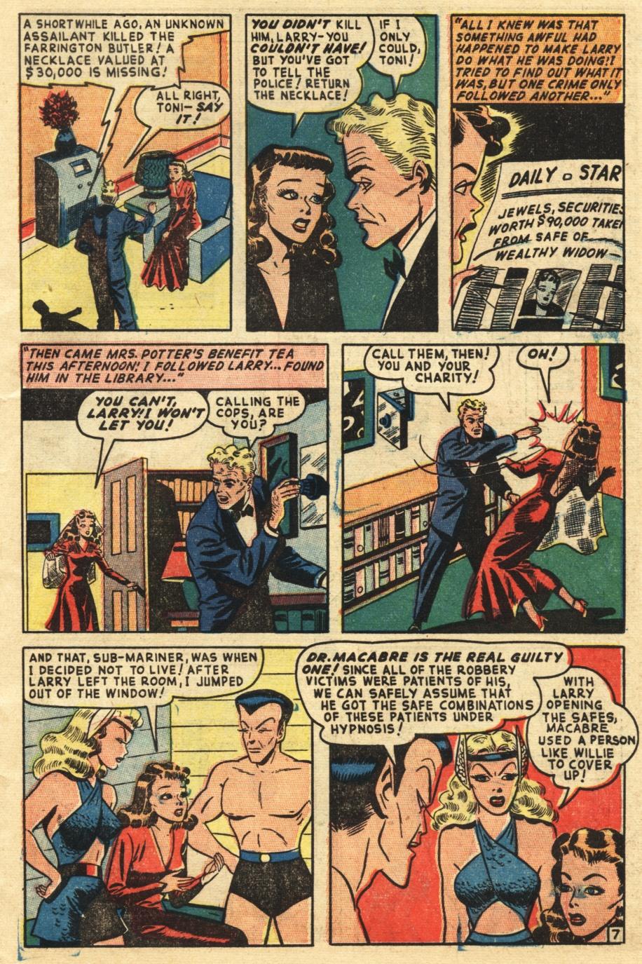 Sub-Mariner Comics #25 #25 - English 25