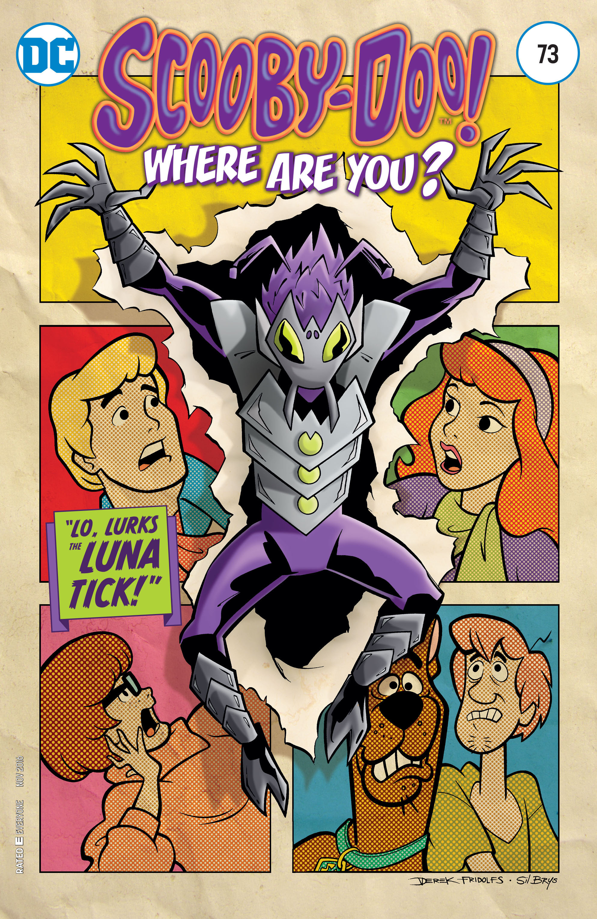 Read online Scooby-Doo: Where Are You? comic -  Issue #73 - 1