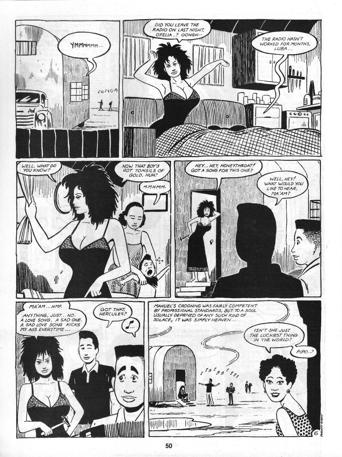 Love and Rockets (1982) Issue #4 #3 - English 52