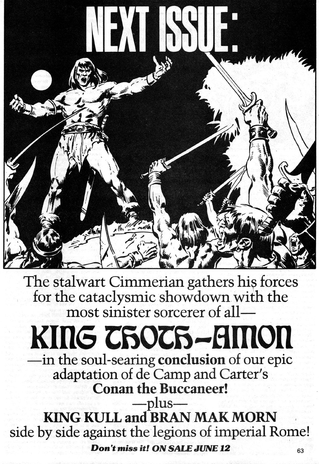 The Savage Sword Of Conan Issue #42 #43 - English 63