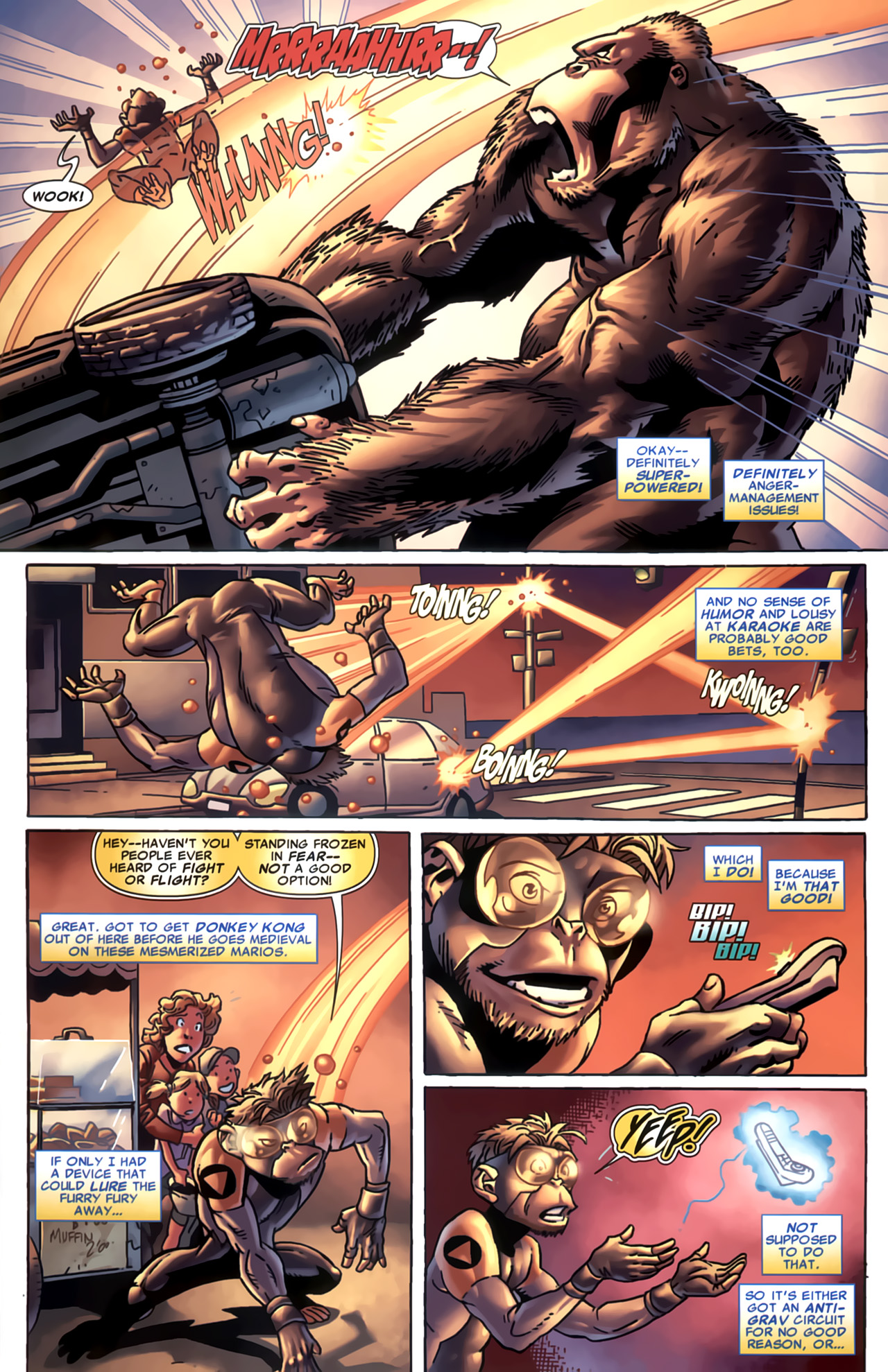Read online Marvel Apes: Speedball Special comic -  Issue # Full - 19