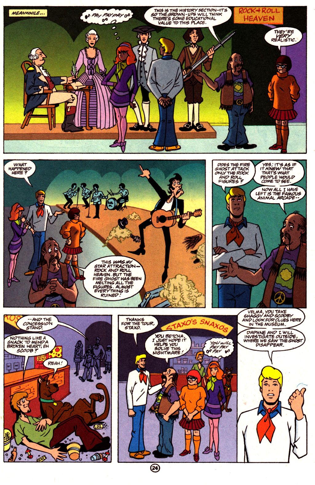 Read online Scooby-Doo (1997) comic -  Issue #3 - 19