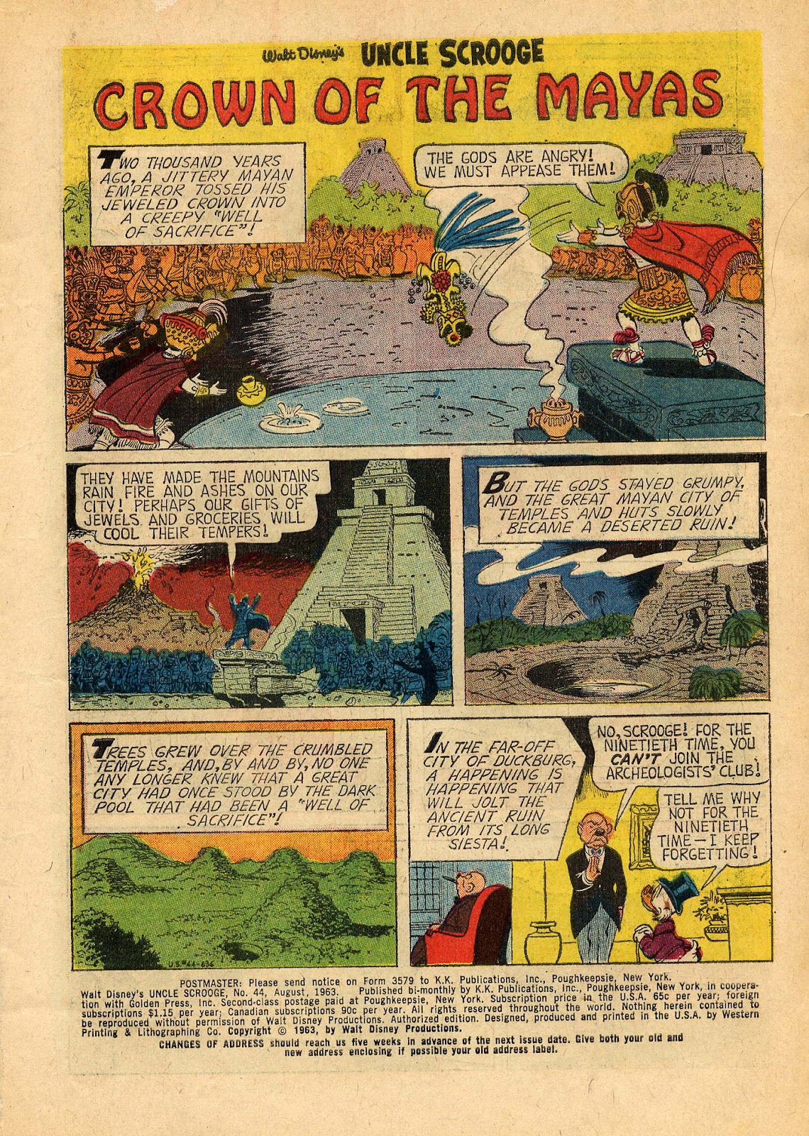 Uncle Scrooge (1953) Issue #44 #44 - English 3