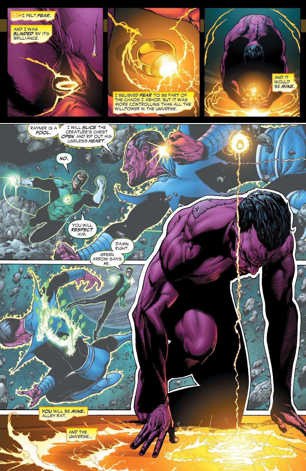 Green Lantern: The Sinestro Corps War Full #1 - English 8