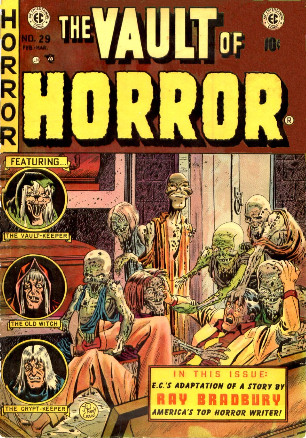 The Vault of Horror (1950) 29 Page 1