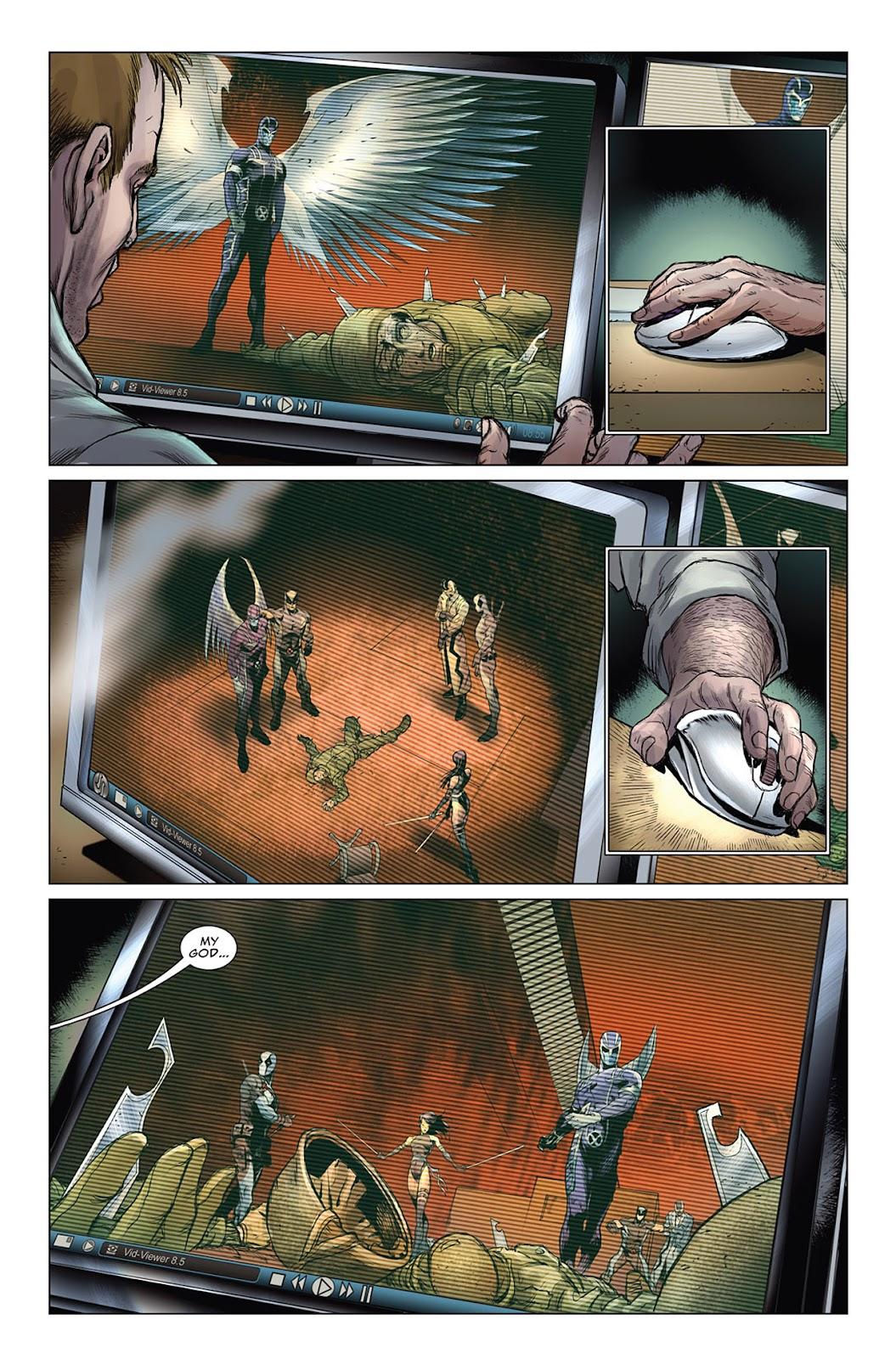 Uncanny X-Force (2010) Issue #10 #11 - English 6