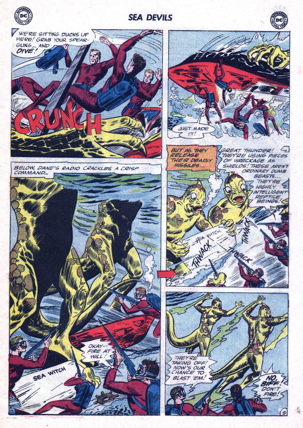 Read online Sea Devils comic -  Issue #20 - 7
