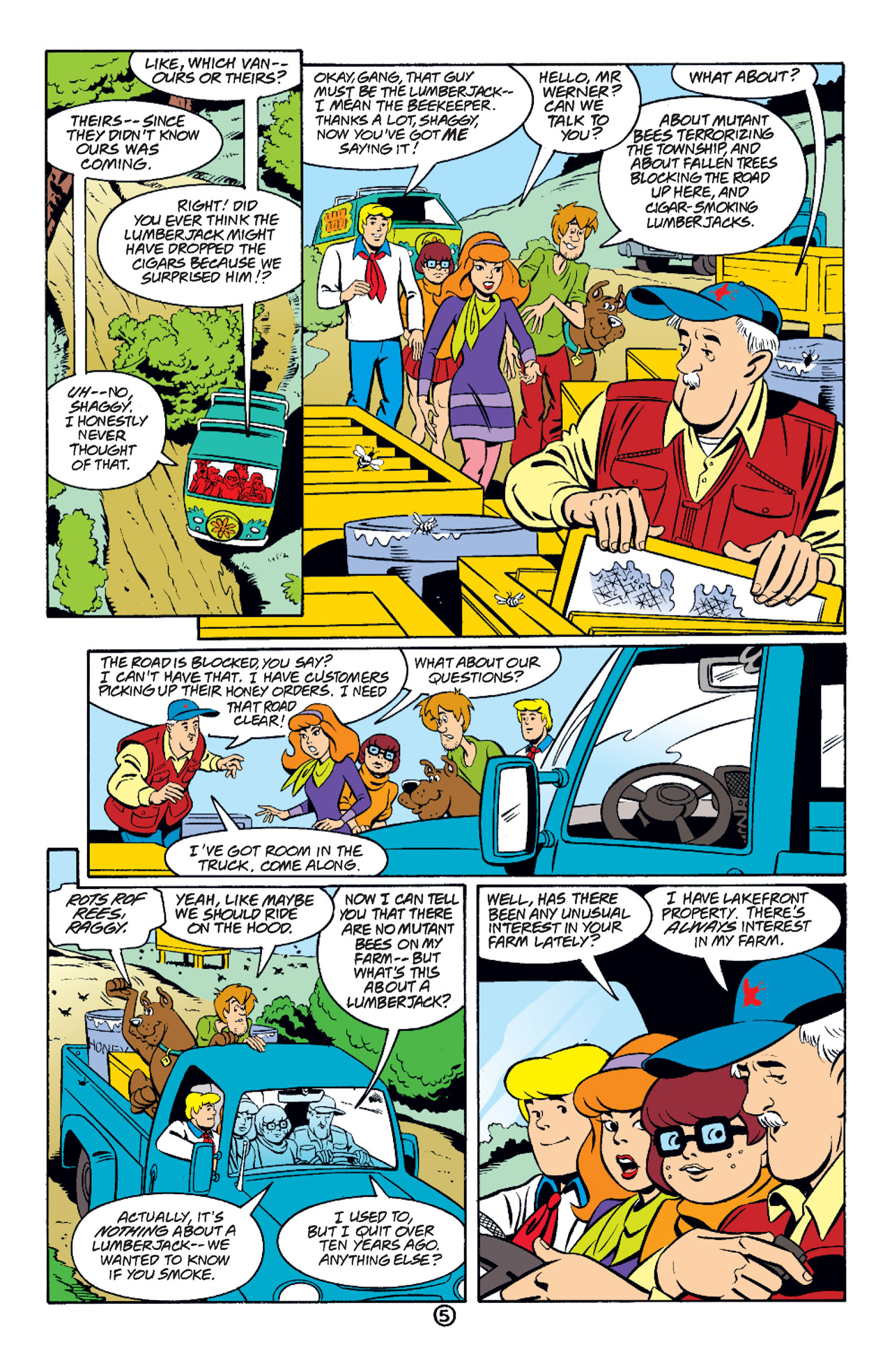 Read online Scooby-Doo (1997) comic -  Issue #37 - 6