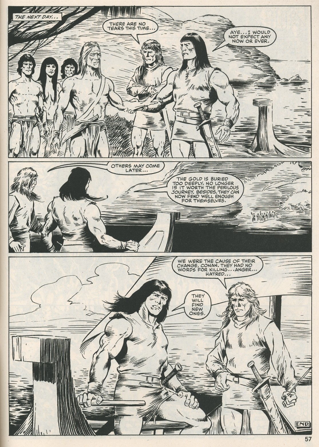 The Savage Sword Of Conan Issue #115 #116 - English 57