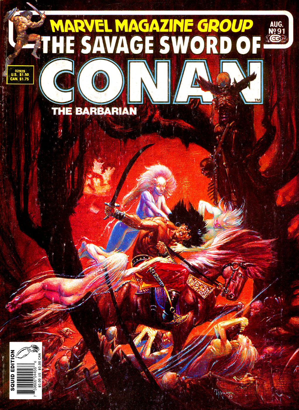 The Savage Sword Of Conan Issue #91 #92 - English 1