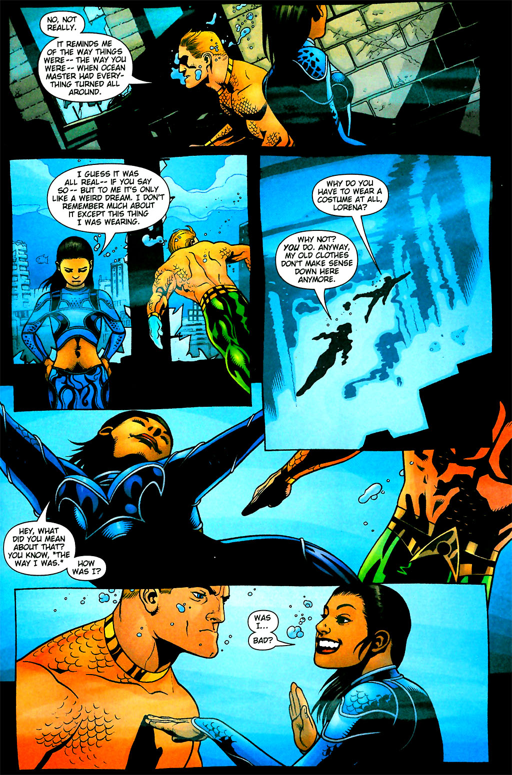 Aquaman (2003) Issue #28 #28 - English 4