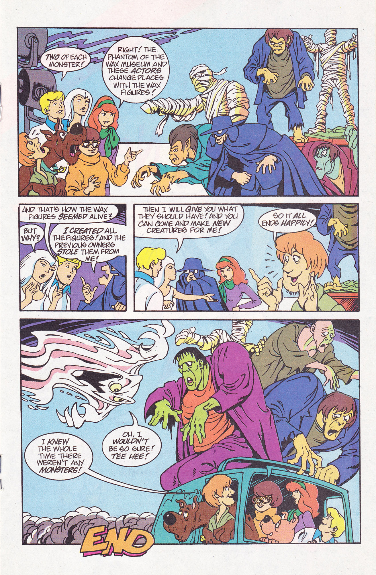 Read online Scooby-Doo (1995) comic -  Issue #7 - 19