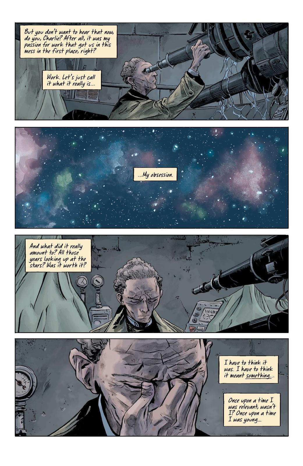 Read online Sherlock Frankenstein and the Legion of Evil comic -  Issue #4 - 19