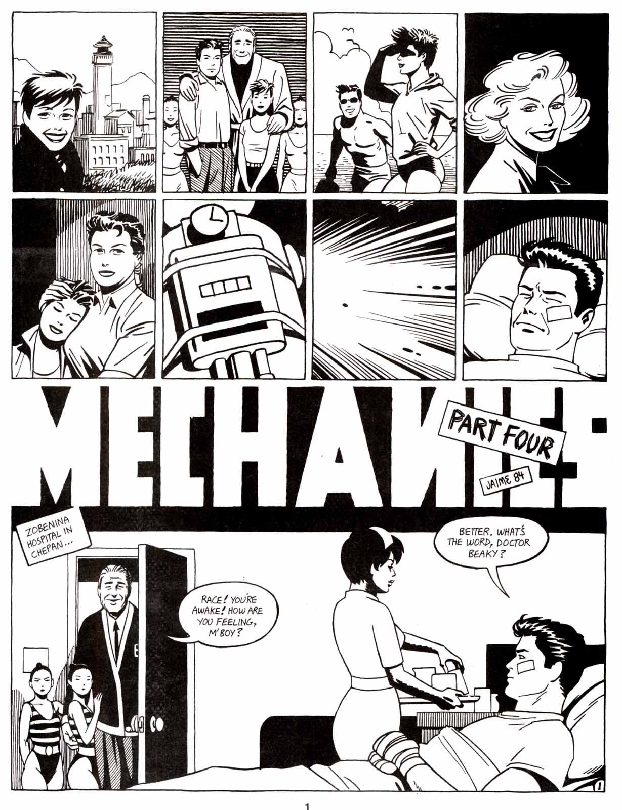 Love and Rockets (1982) Issue #9 #8 - English 3