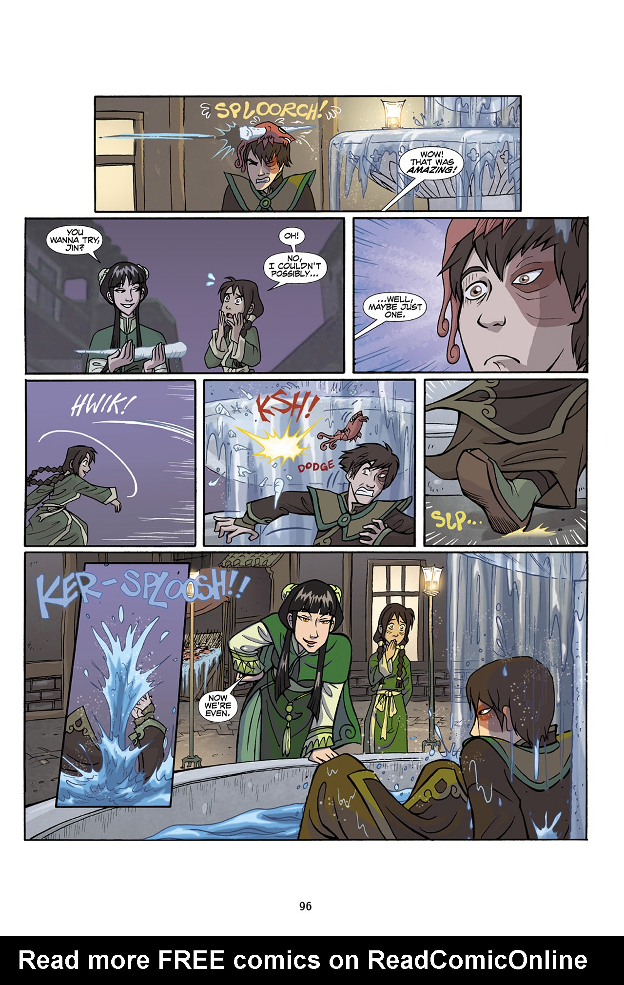Nickelodeon Avatar: The Last Airbender - The Lost Adventures chap full pic 97