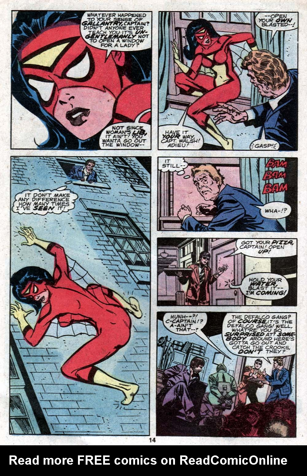Spider-Woman (1978) #21 #30 - English 10