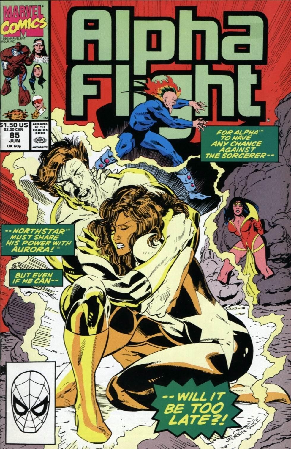 Alpha Flight (1983) 85 Page 1