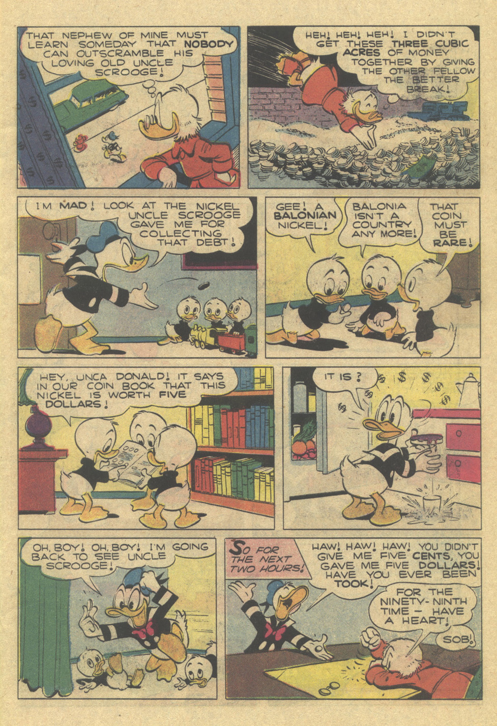 Uncle Scrooge (1953) Issue #189 #189 - English 7