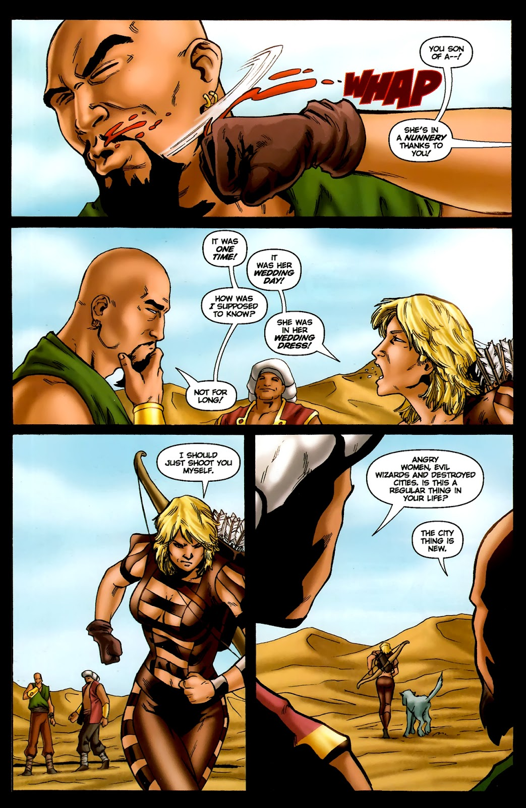1001 Arabian Nights: The Adventures of Sinbad Issue #13 Page 24