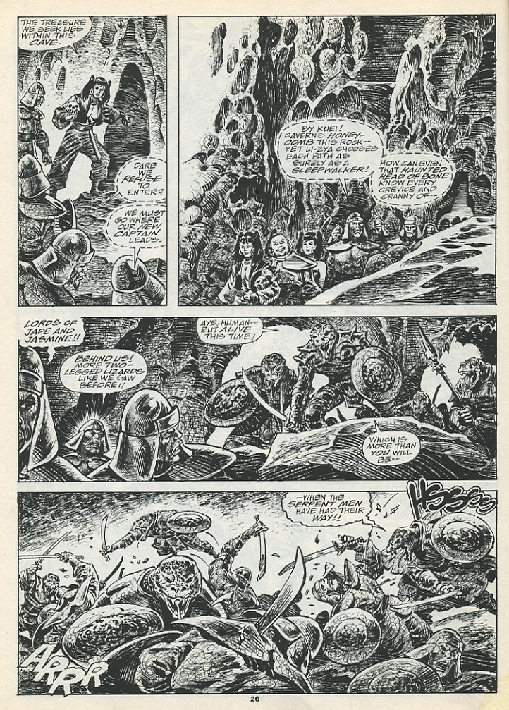 The Savage Sword Of Conan Issue #193 #194 - English 28