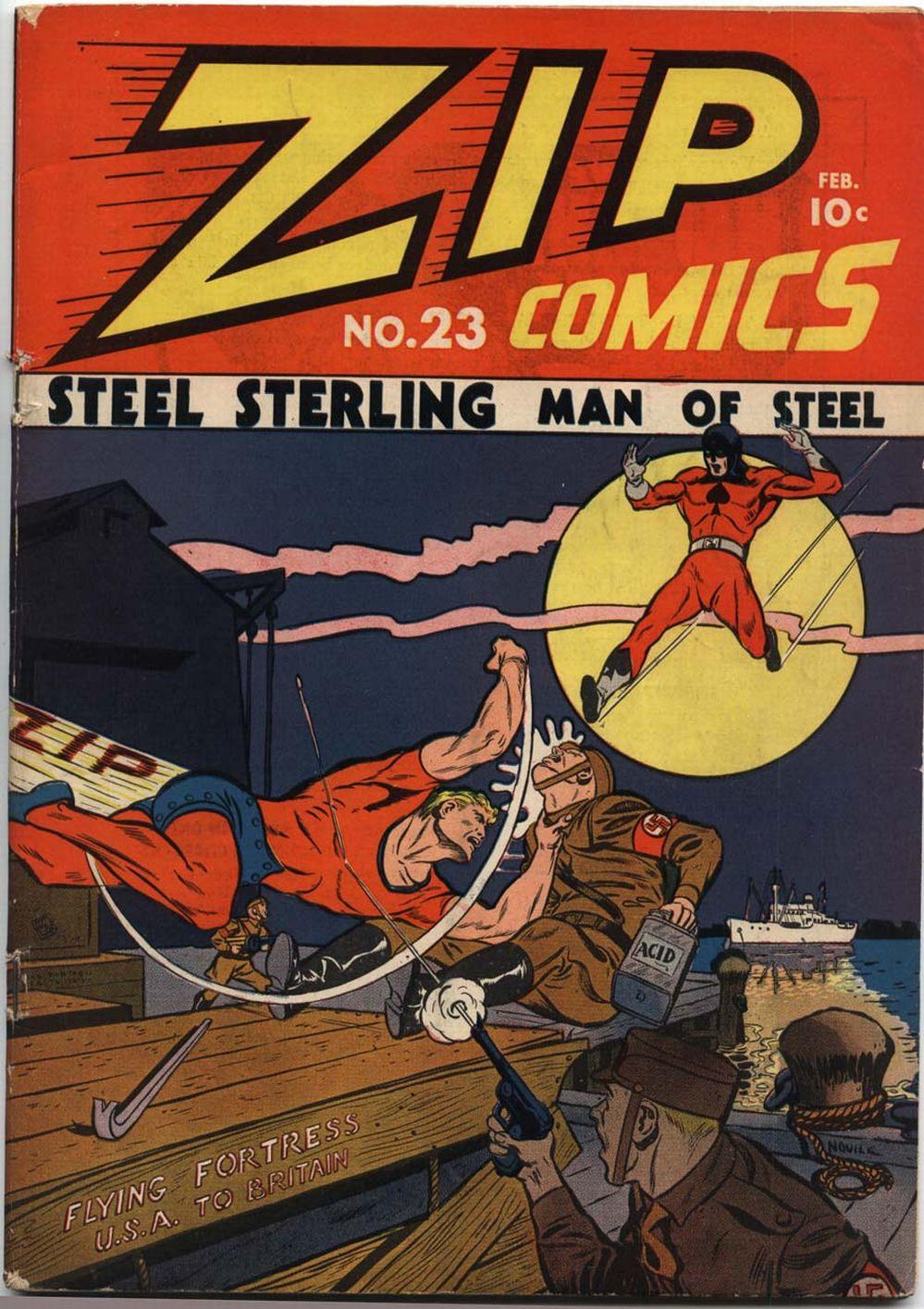 Zip Comics 23 Page 1