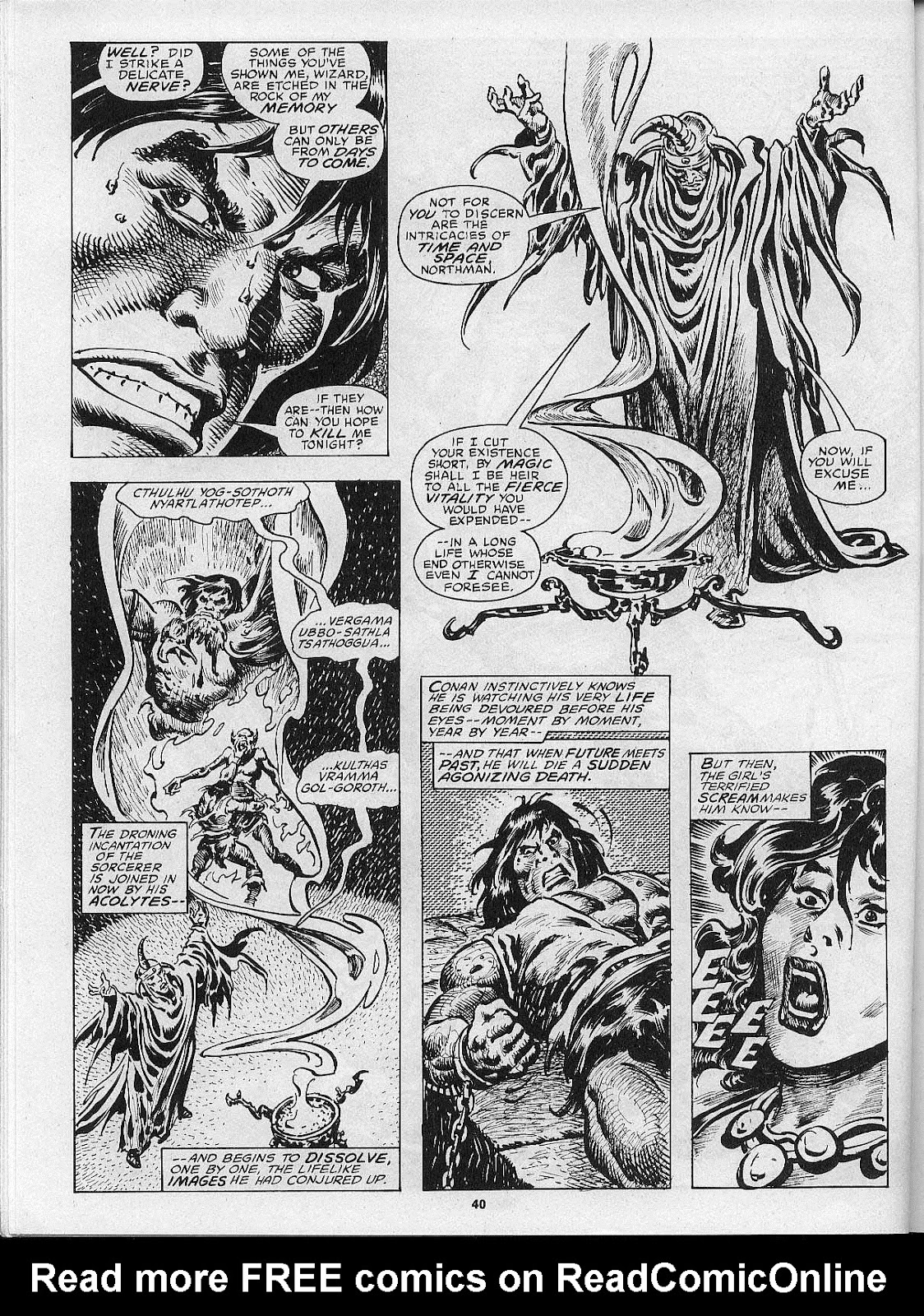 The Savage Sword Of Conan Issue #200 #201 - English 42