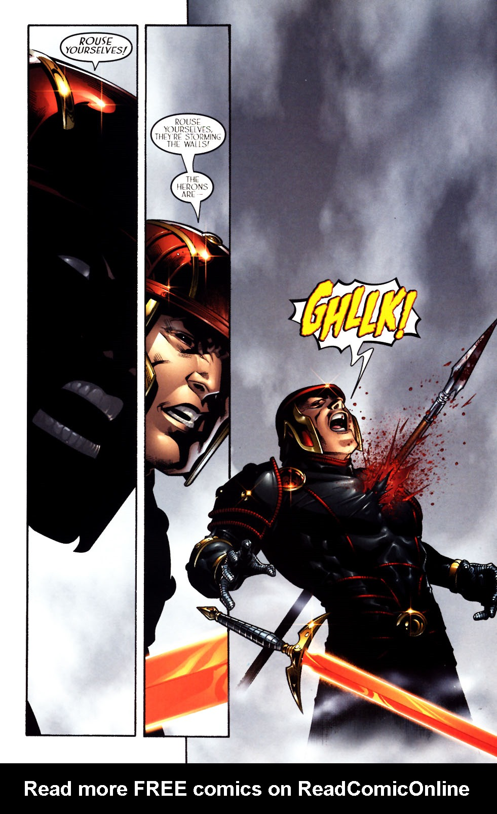 Read online Scion comic -  Issue #11 - 3