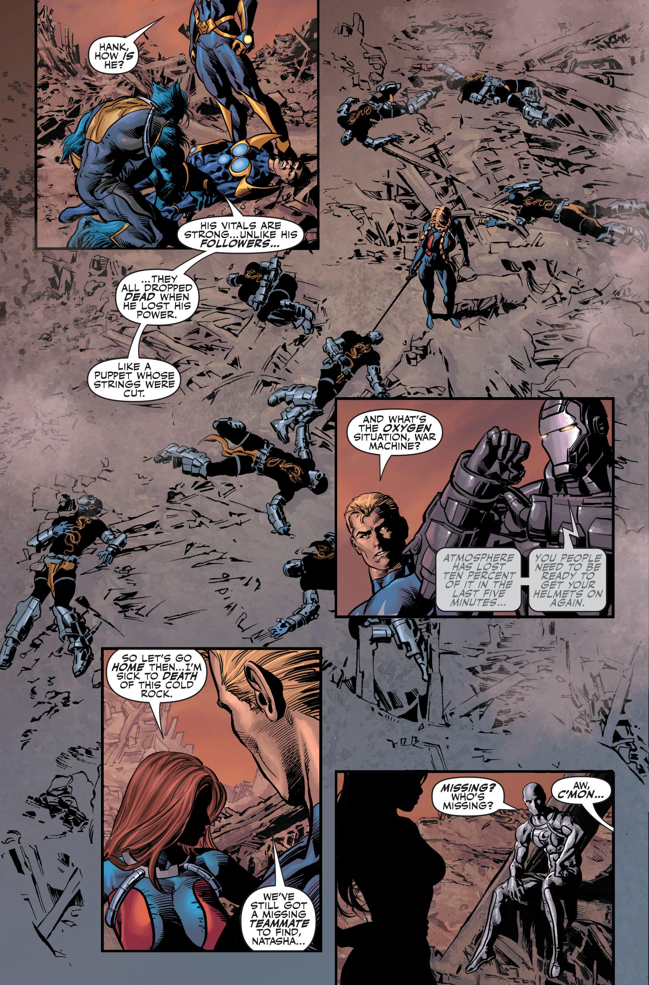 Read online Secret Avengers (2010) comic -  Issue #4 - 23
