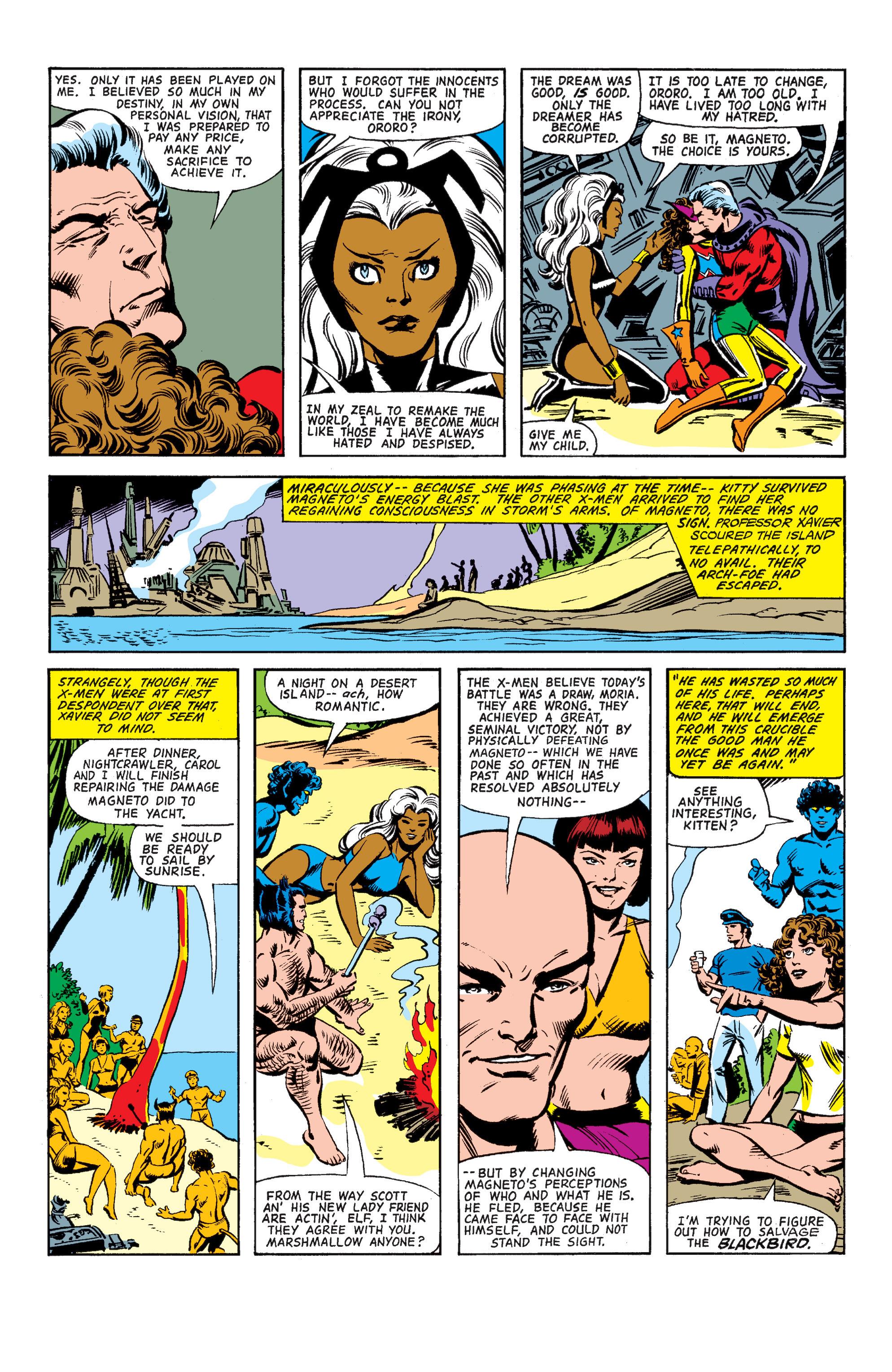 Uncanny X-Men (1963) 150 Page 38