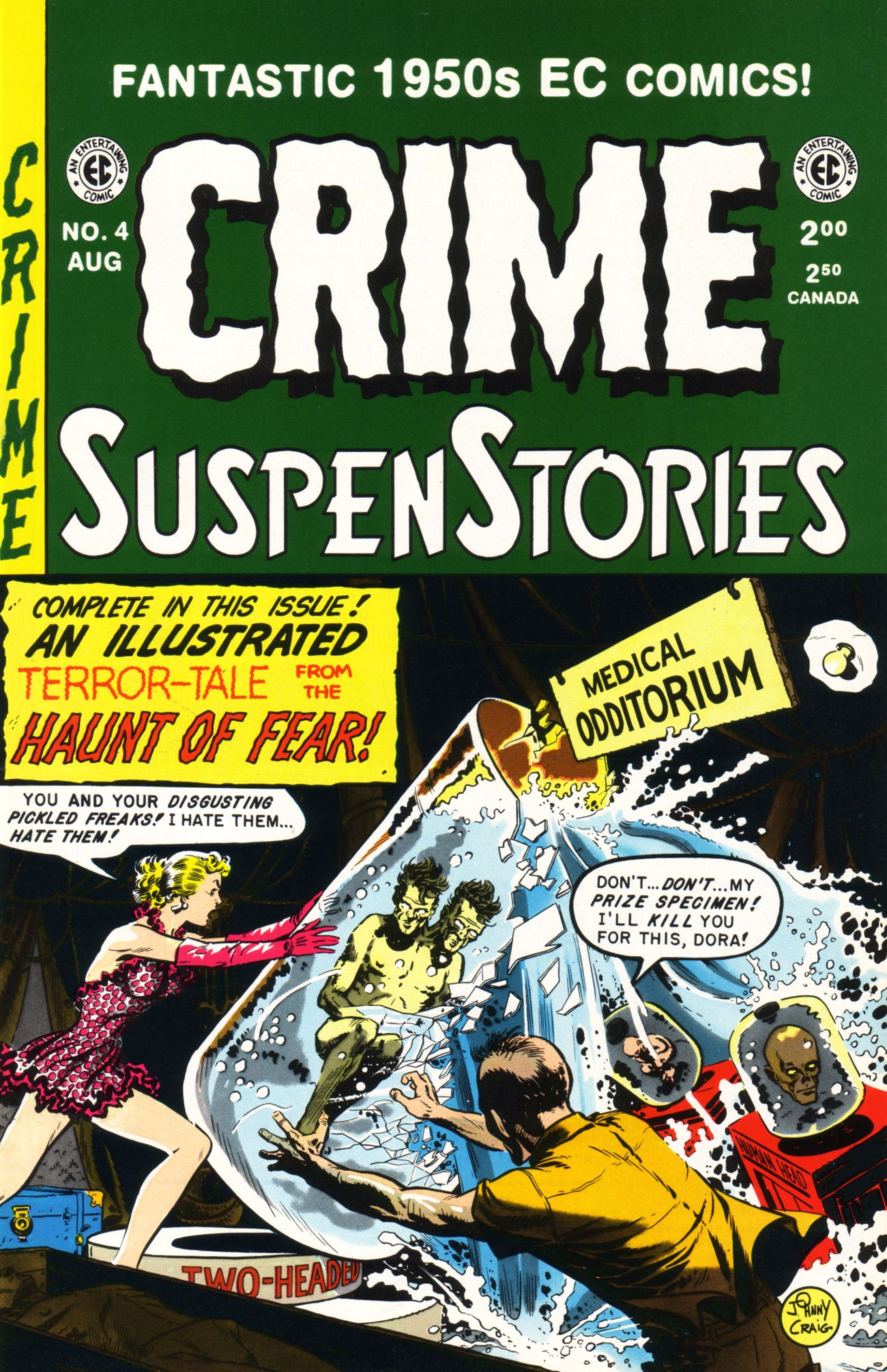 Crime SuspenStories 4 Page 1