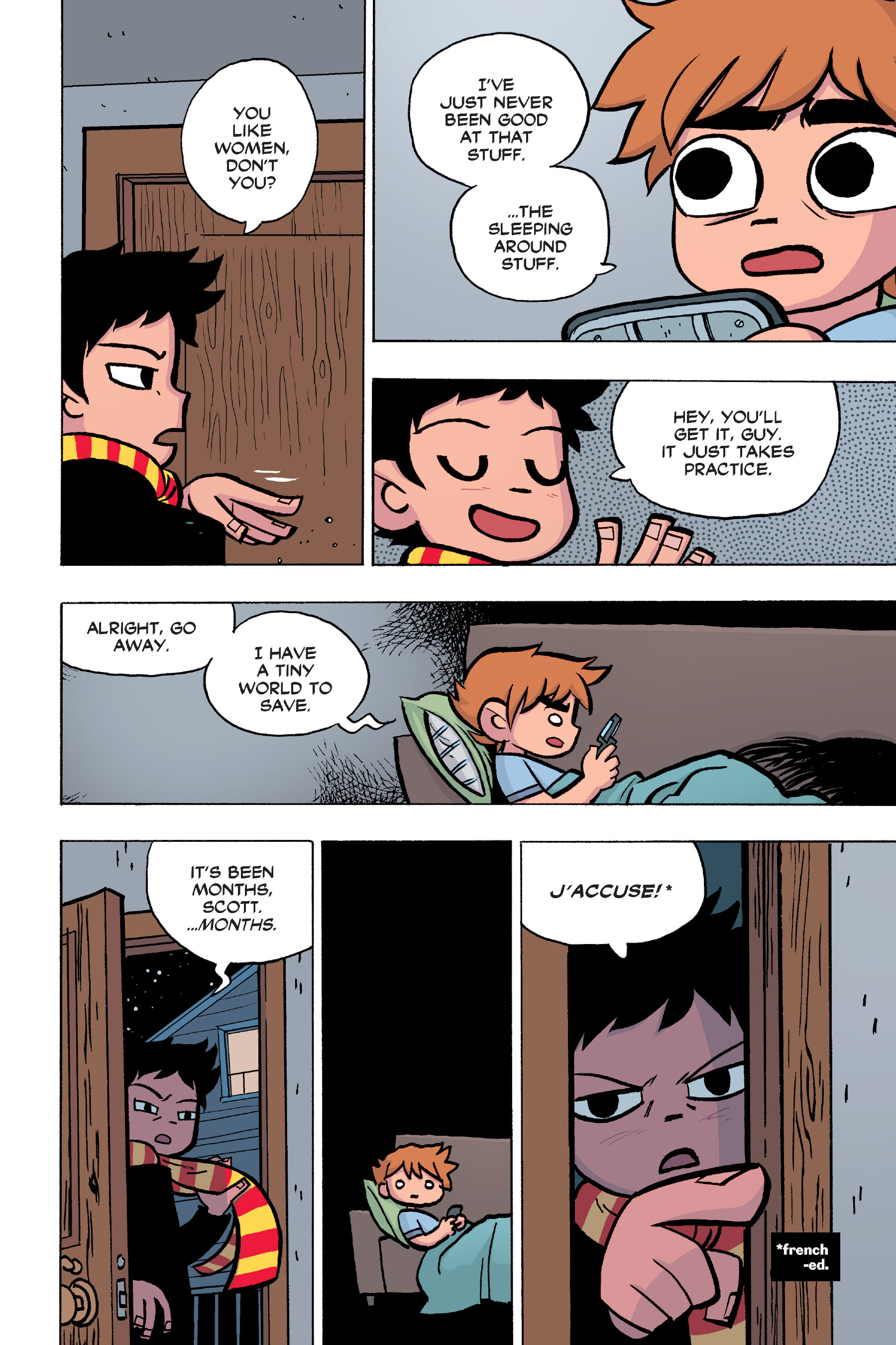 Read online Scott Pilgrim comic -  Issue #6 - 17