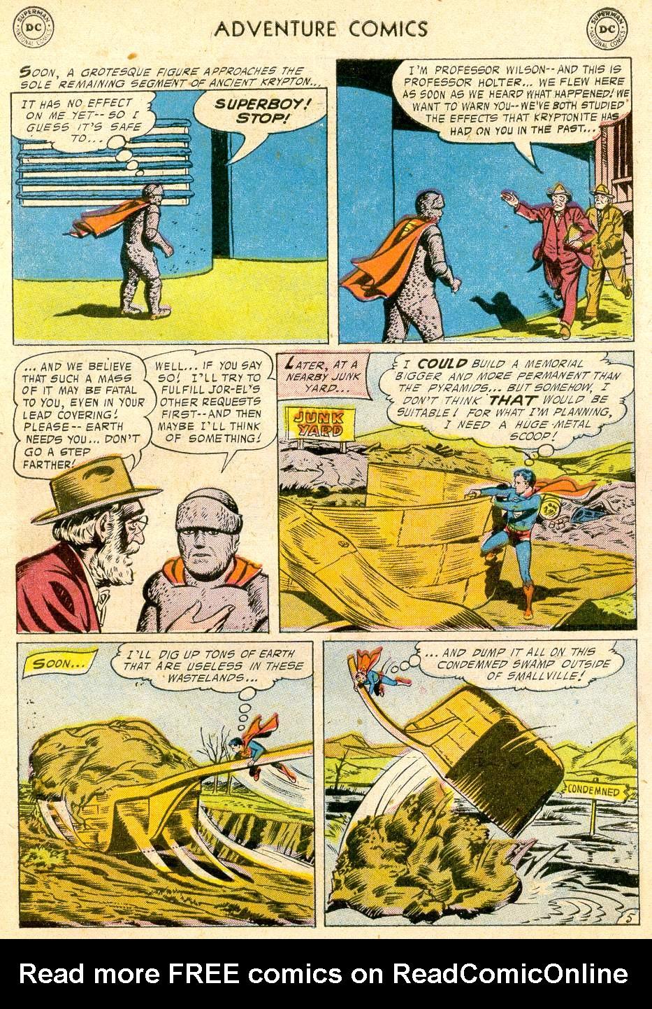 Read online Adventure Comics (1938) comic -  Issue #232 - 7