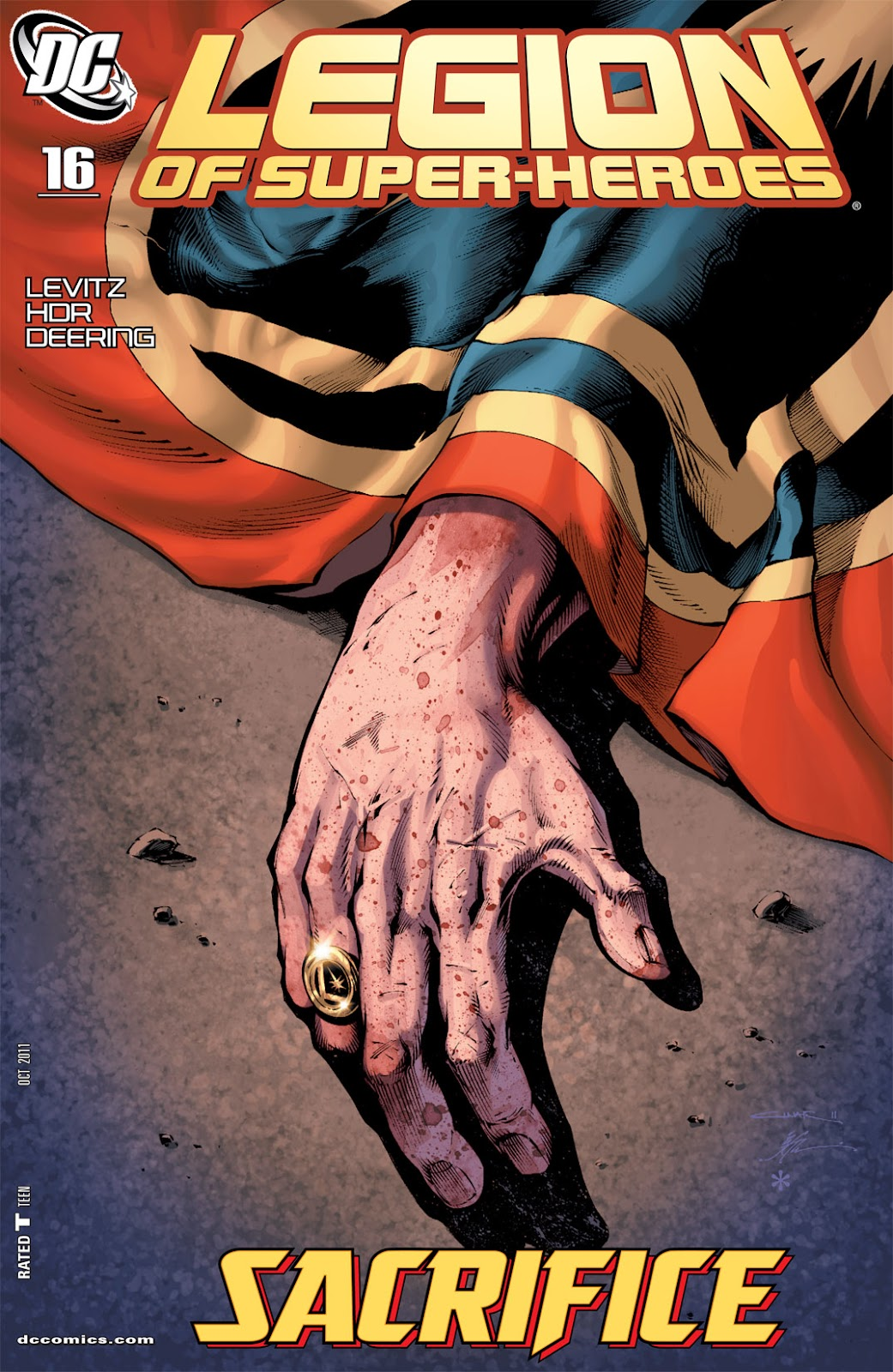 Legion of Super-Heroes (2010) Issue #16 #17 - English 1