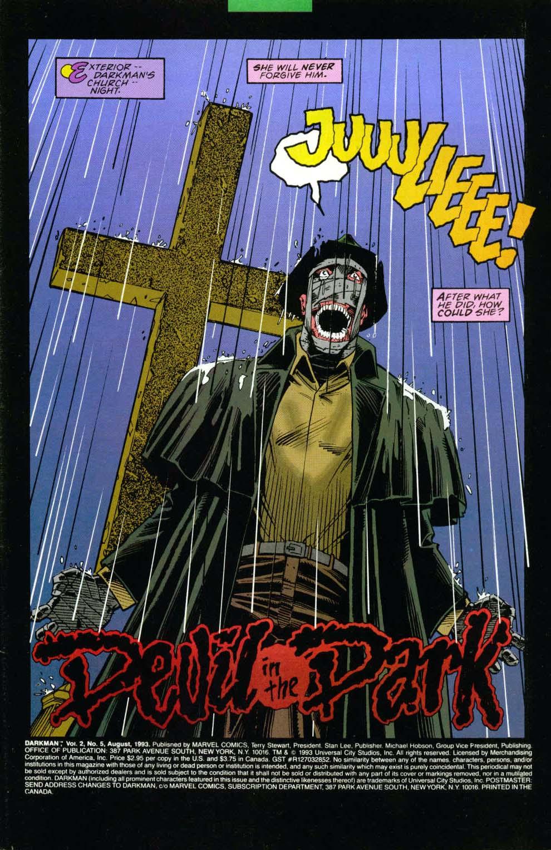 Darkman (1993) #5 #5 - English 2