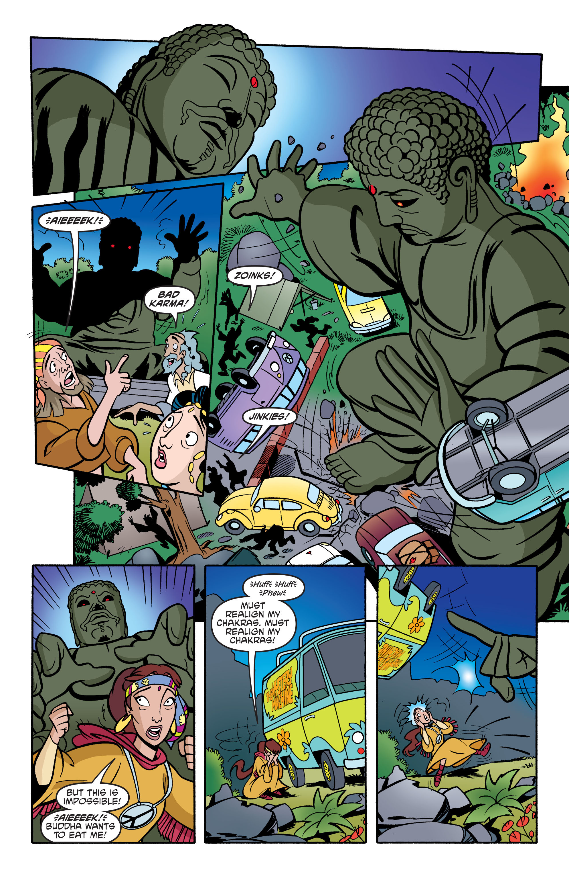 Read online Scooby-Doo: Where Are You? comic -  Issue #74 - 18