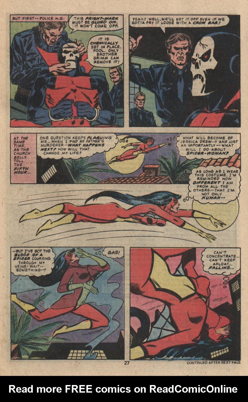 Spider-Woman (1978) #3 #48 - English 16