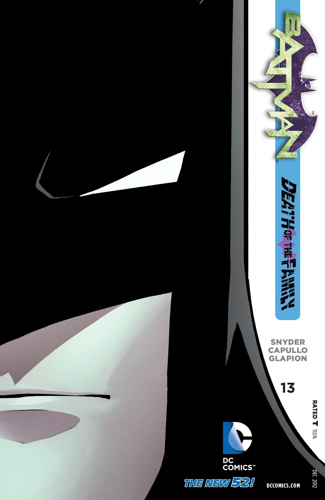Batman (2011) Issue #13 #28 - English 1
