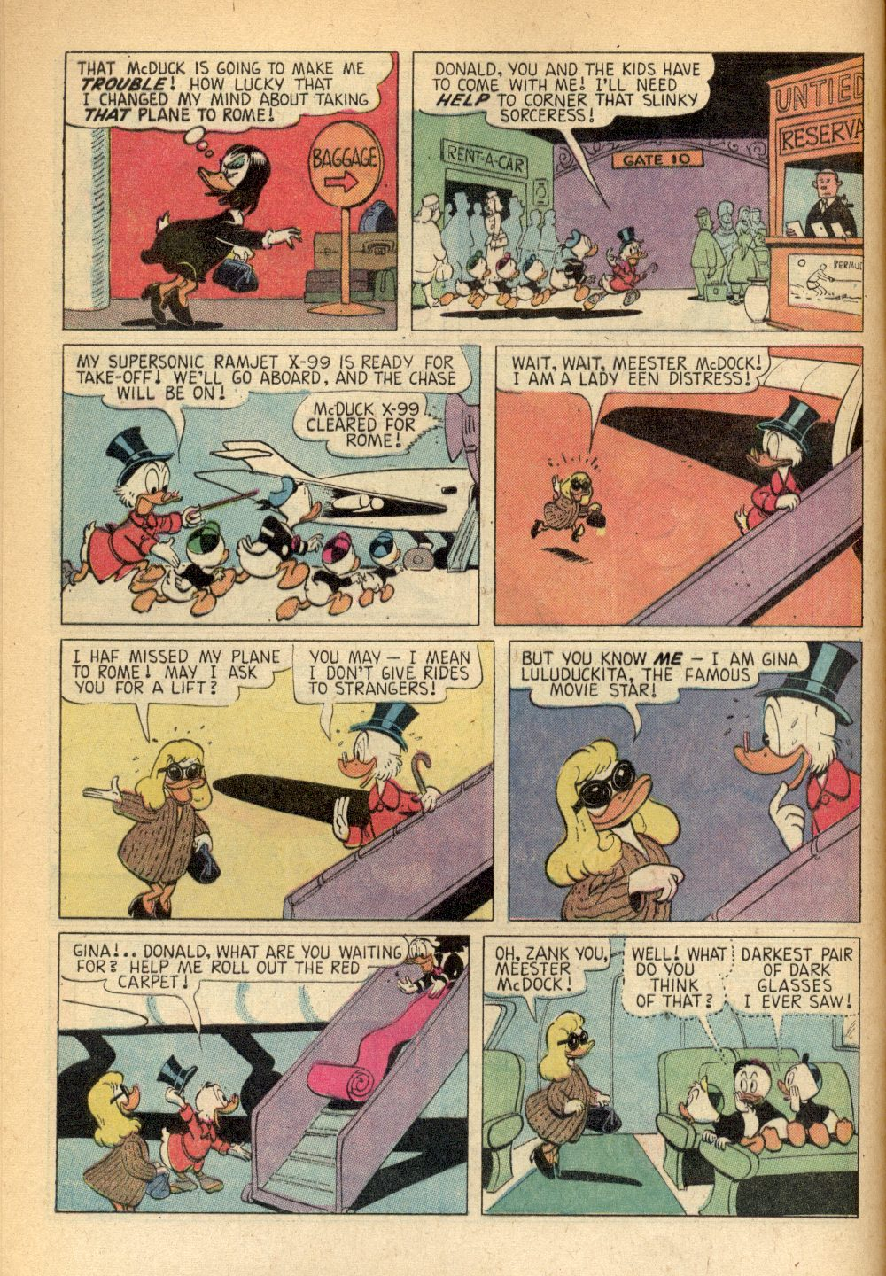 Uncle Scrooge (1953) Issue #93 #93 - English 8
