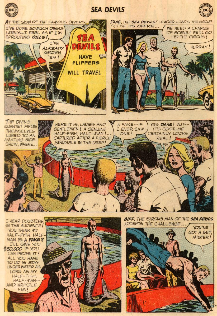 Read online Sea Devils comic -  Issue #8 - 5
