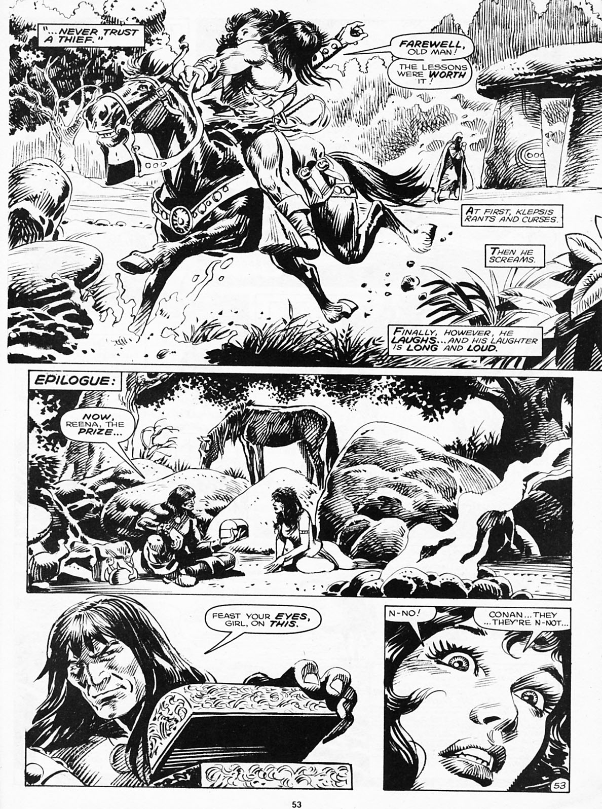 The Savage Sword Of Conan Issue #180 #181 - English 55